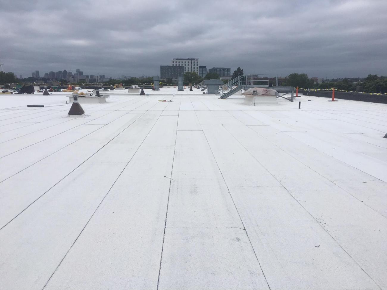 Wellington Maintenance Facility: Roof installation (September 2018)