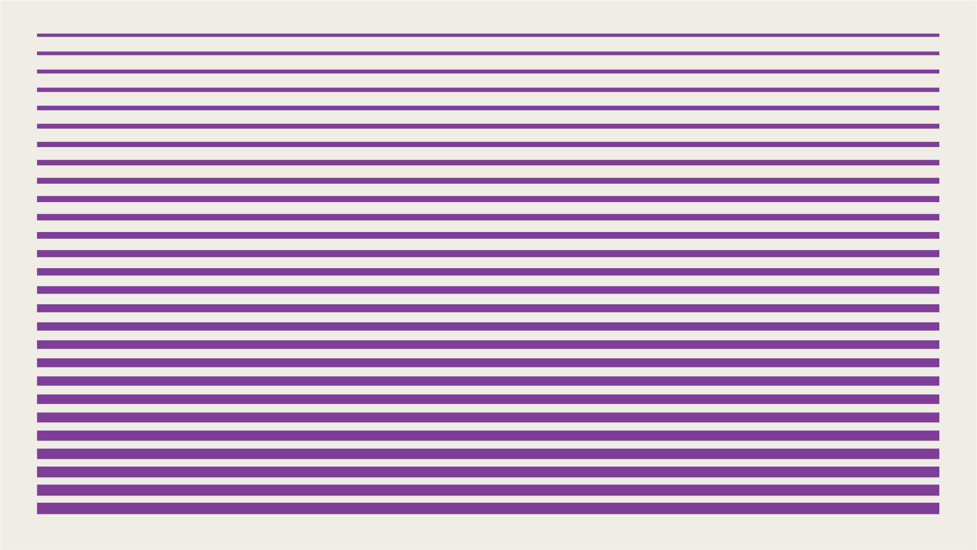 Decorative graphic with striped purple lines