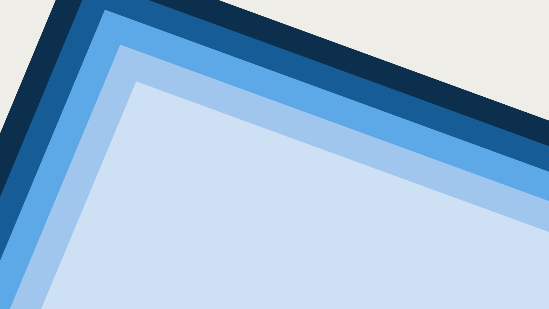 Decorative graphic with rotated blue rectangles