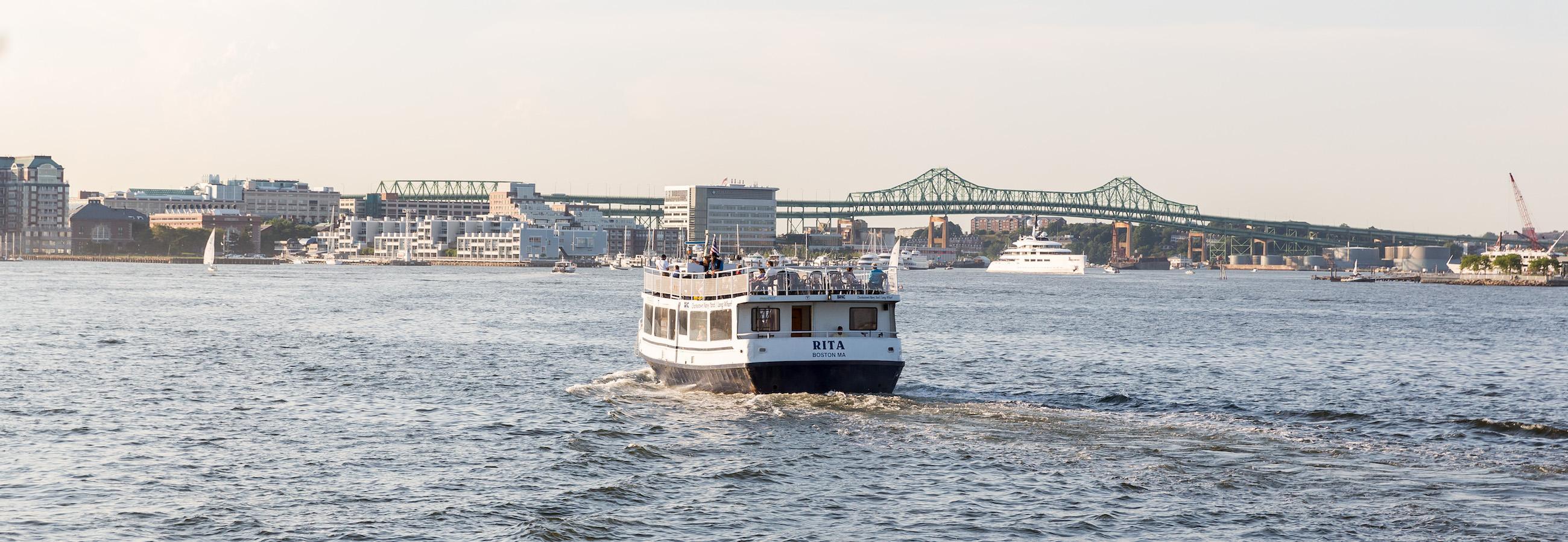 mbta ferry rita traveling to charlestown