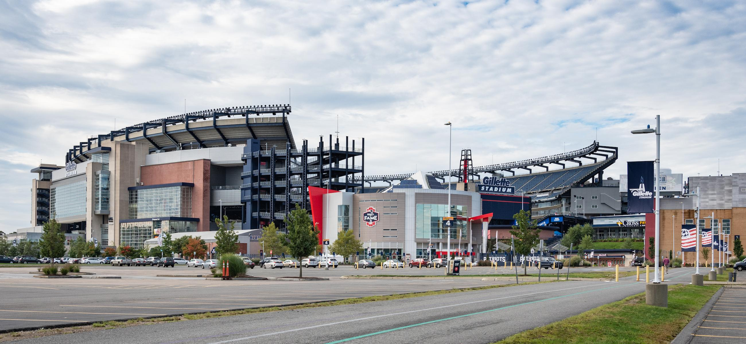 gillette stadium 2018