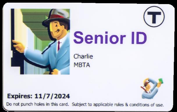 MBTA senior charliecard
